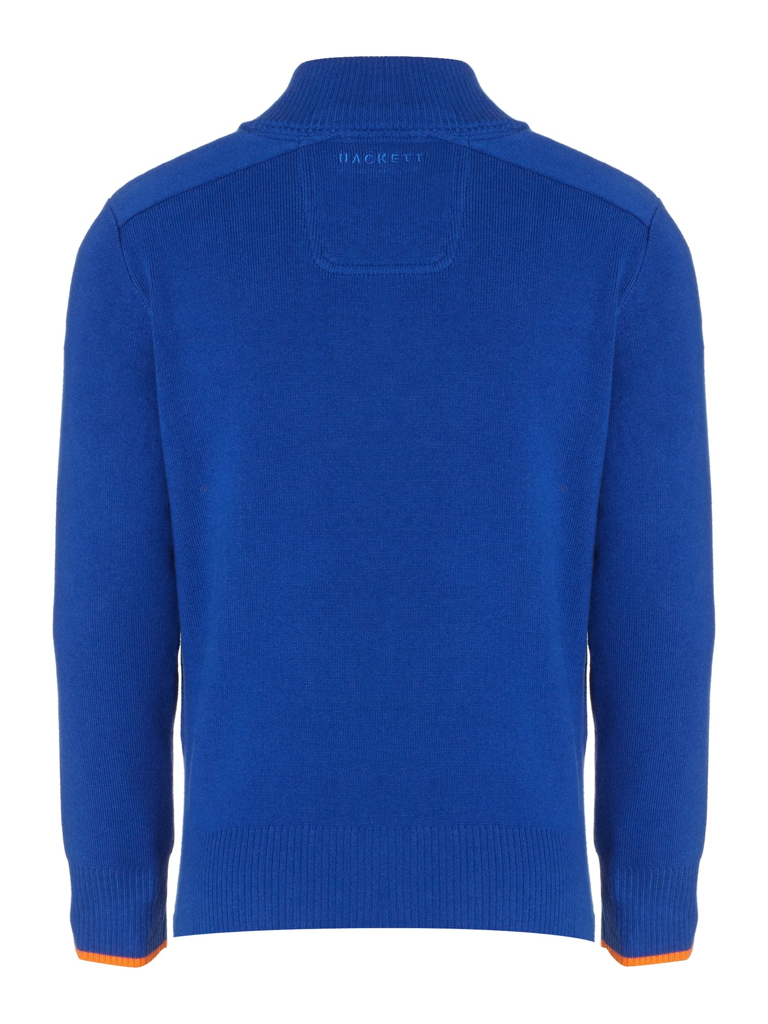 Boy`s Aston Martin funnel neck knit
