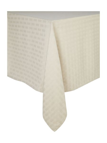 Casa Couture Basket weave tablecloth