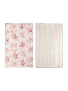 Meadow floral set of 2 tea towels