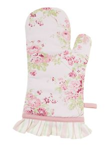 Meadow floral single oven glove