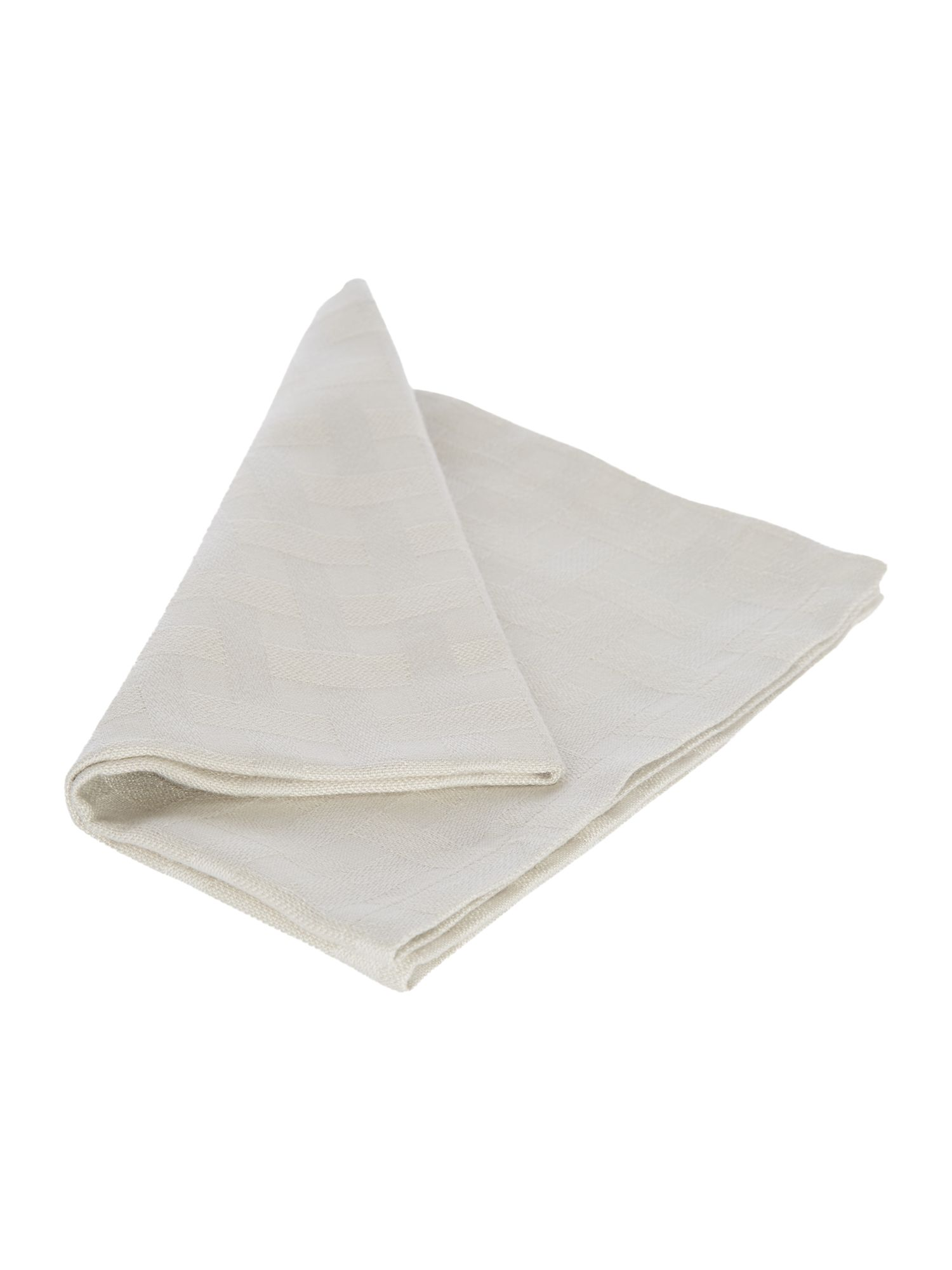 Basket weave set of 4 napkins