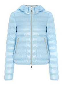 Scia padded jacket with hood