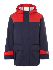 Hackett Boys pieced hooded jacket
