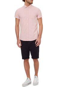 Morgan oxford short sleeve shirt