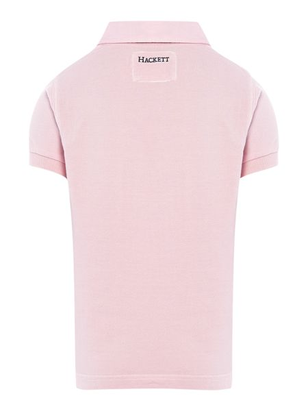 Hackett Boy`s polo with hawaiian print logo
