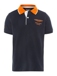 Boy`s Aston Martin logo polo