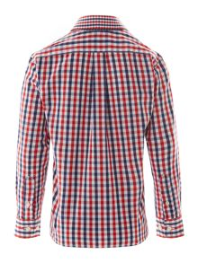 Boy`s large gingham check shirt