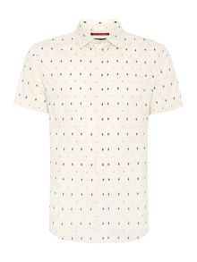 Lorimar printed short sleeved shirt