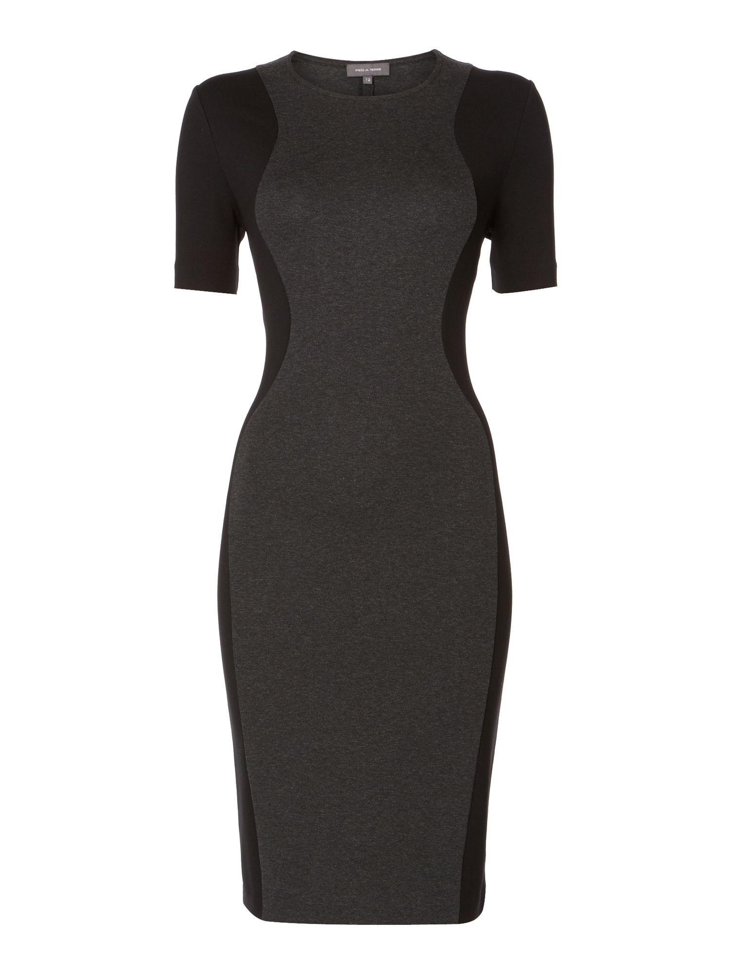 Panelled Tube Dress