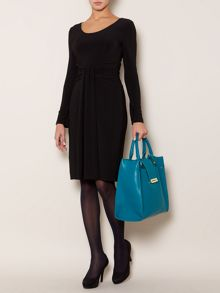 Long sleeve grecian dress