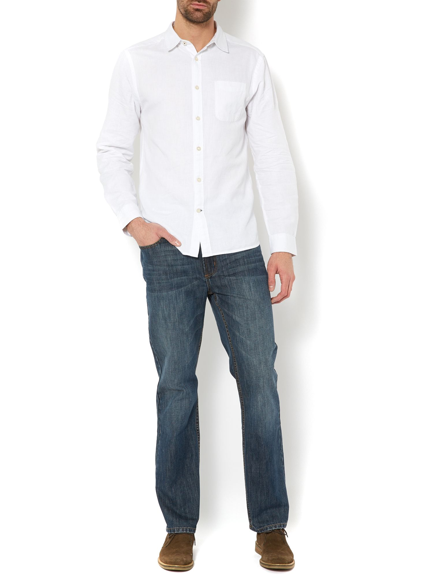 huntington linen shirt
