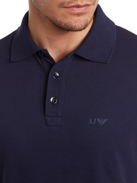 Muscle Fit Logo Polo Shirt
