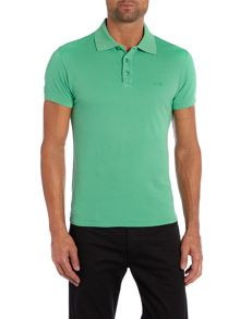 Armani Jeans Muscle Fit Logo Polo Shirt