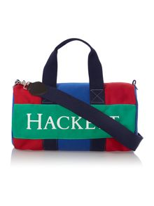 Boy`s canvas duffle bag