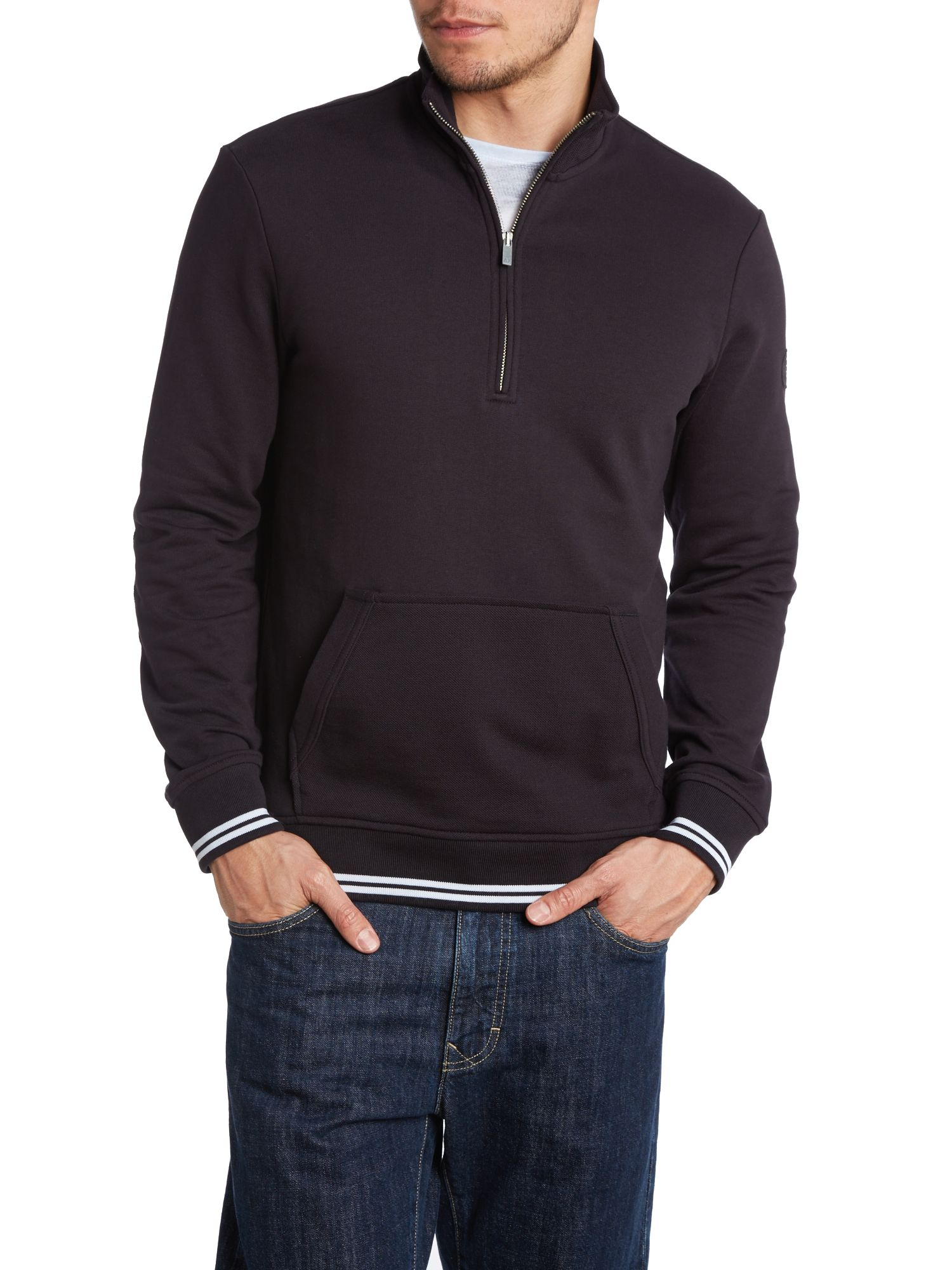 3/4 zip sweatshirt