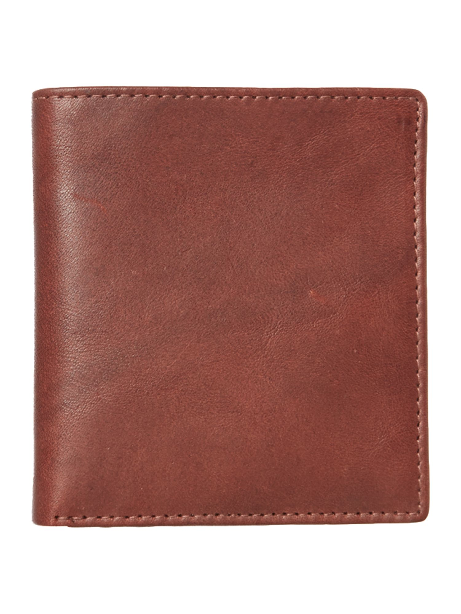 Italian leather bifold wallet