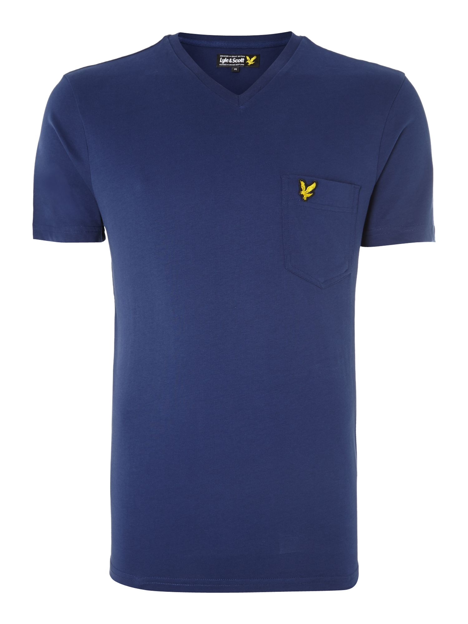 V neck pocket t shirt