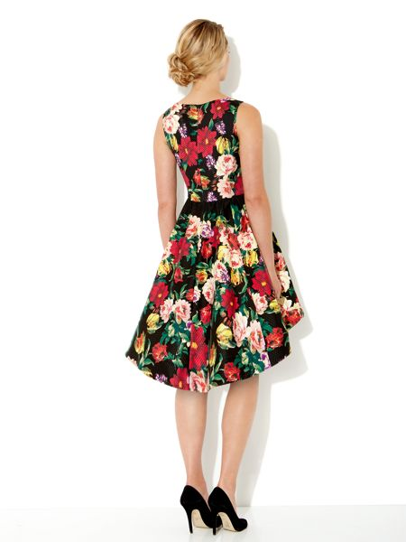 Untold Piquet floral dress