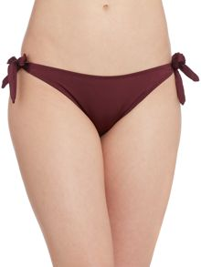 Goddess tie side brief