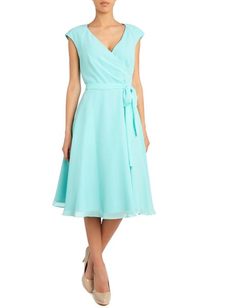 Ariella Bridesmaid cap sleeve prom dress