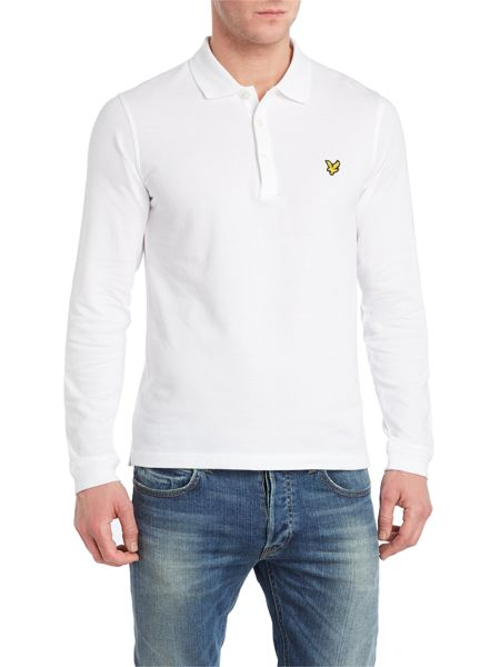 Lyle and Scott Regular fit long sleeve polo shirt