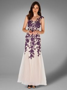 Rita tulle full length dress