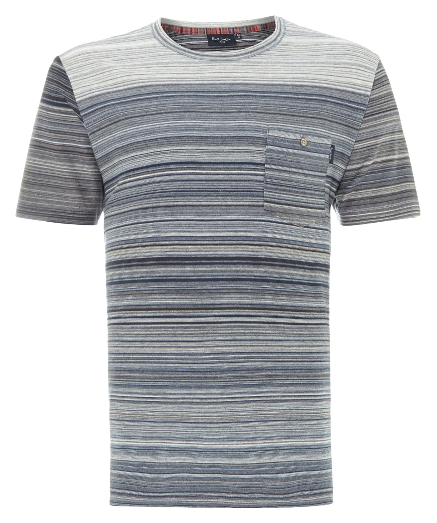 Multi stripe t shirt