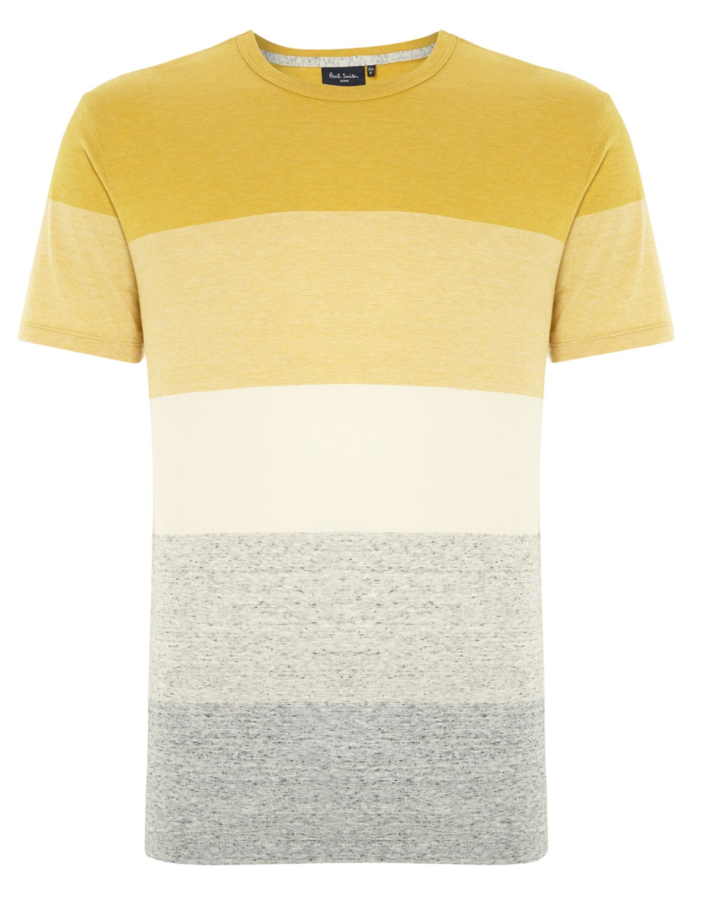 Block stripe t shirt