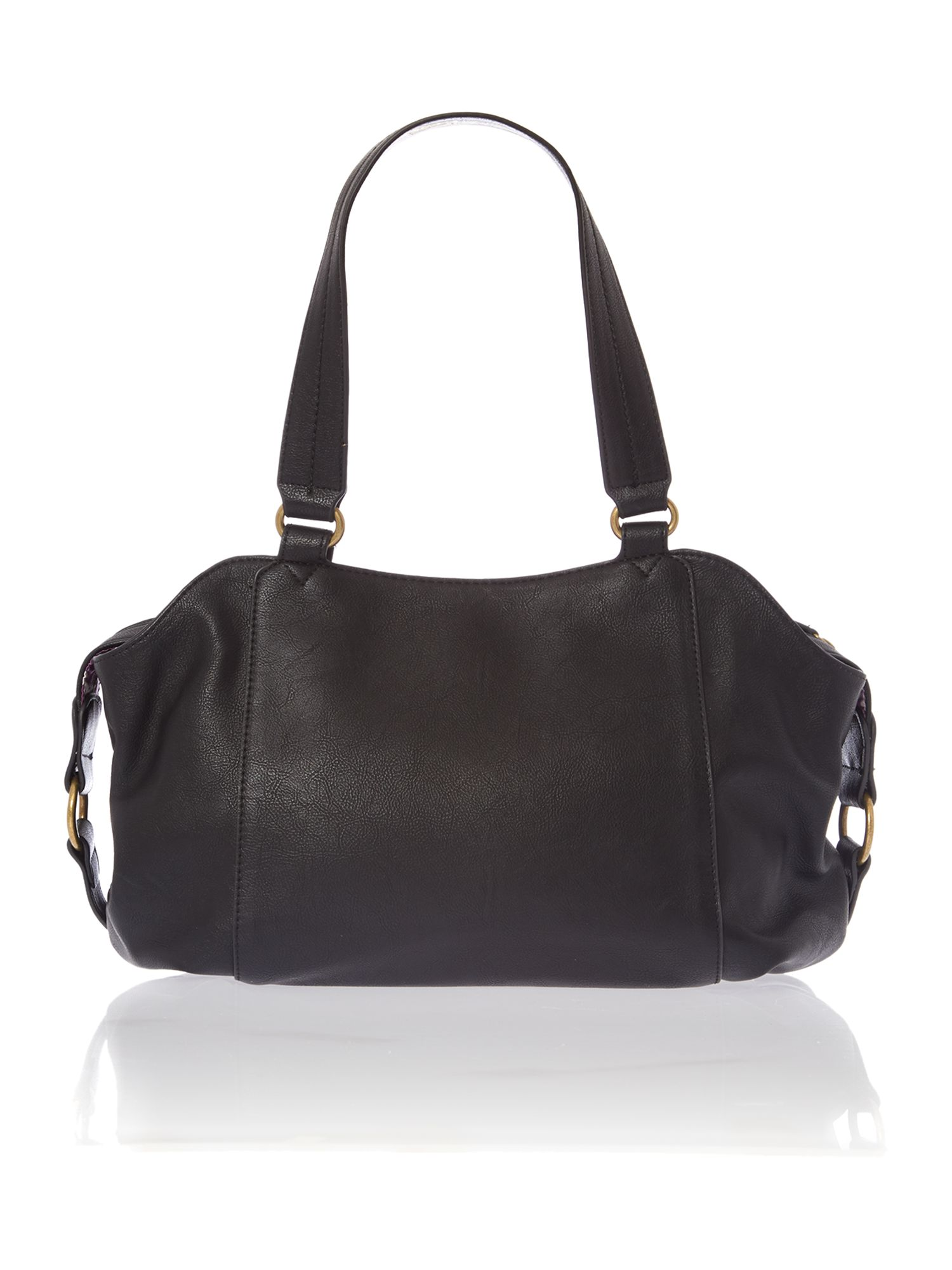 Judy black tote bag