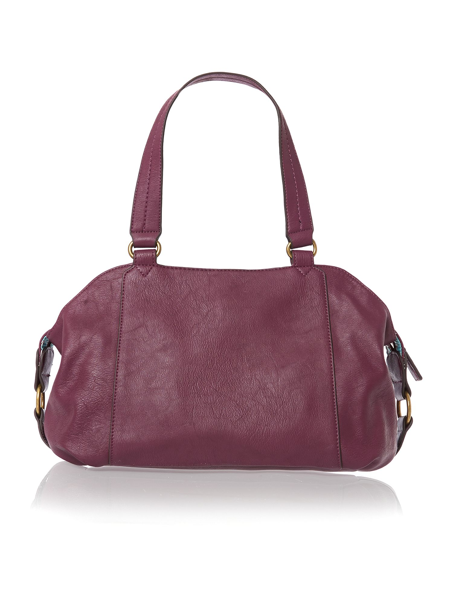 Judy purple tote bag