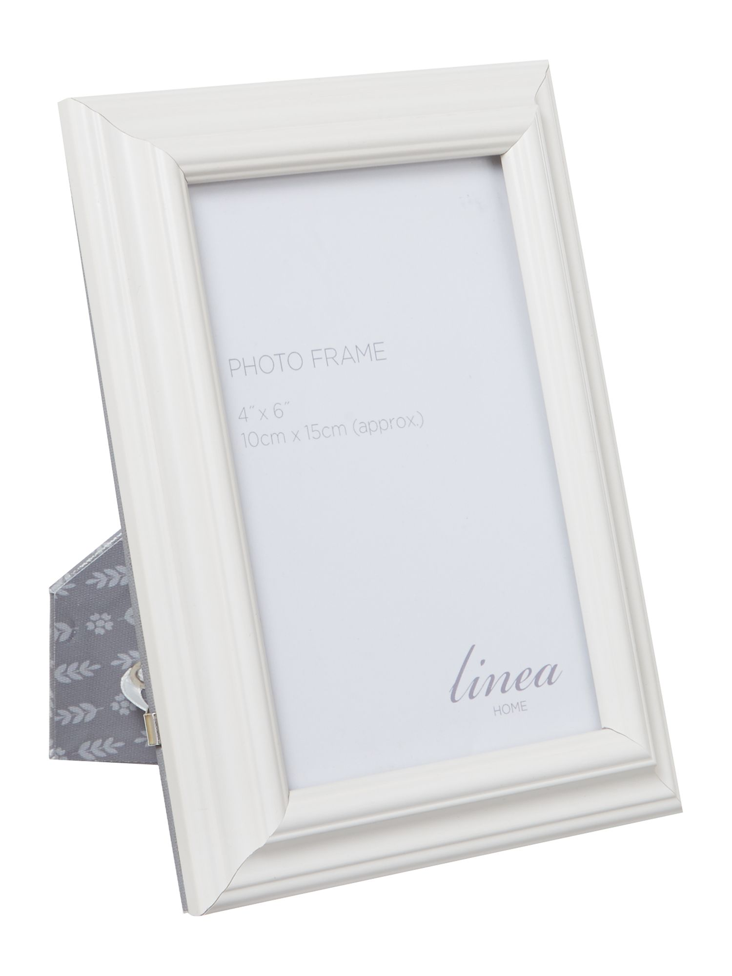 Grey photo frame, 4 x 6