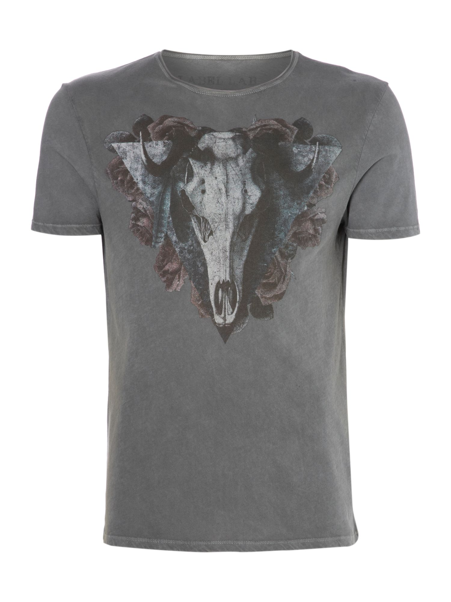 Horns graphic t-shirt