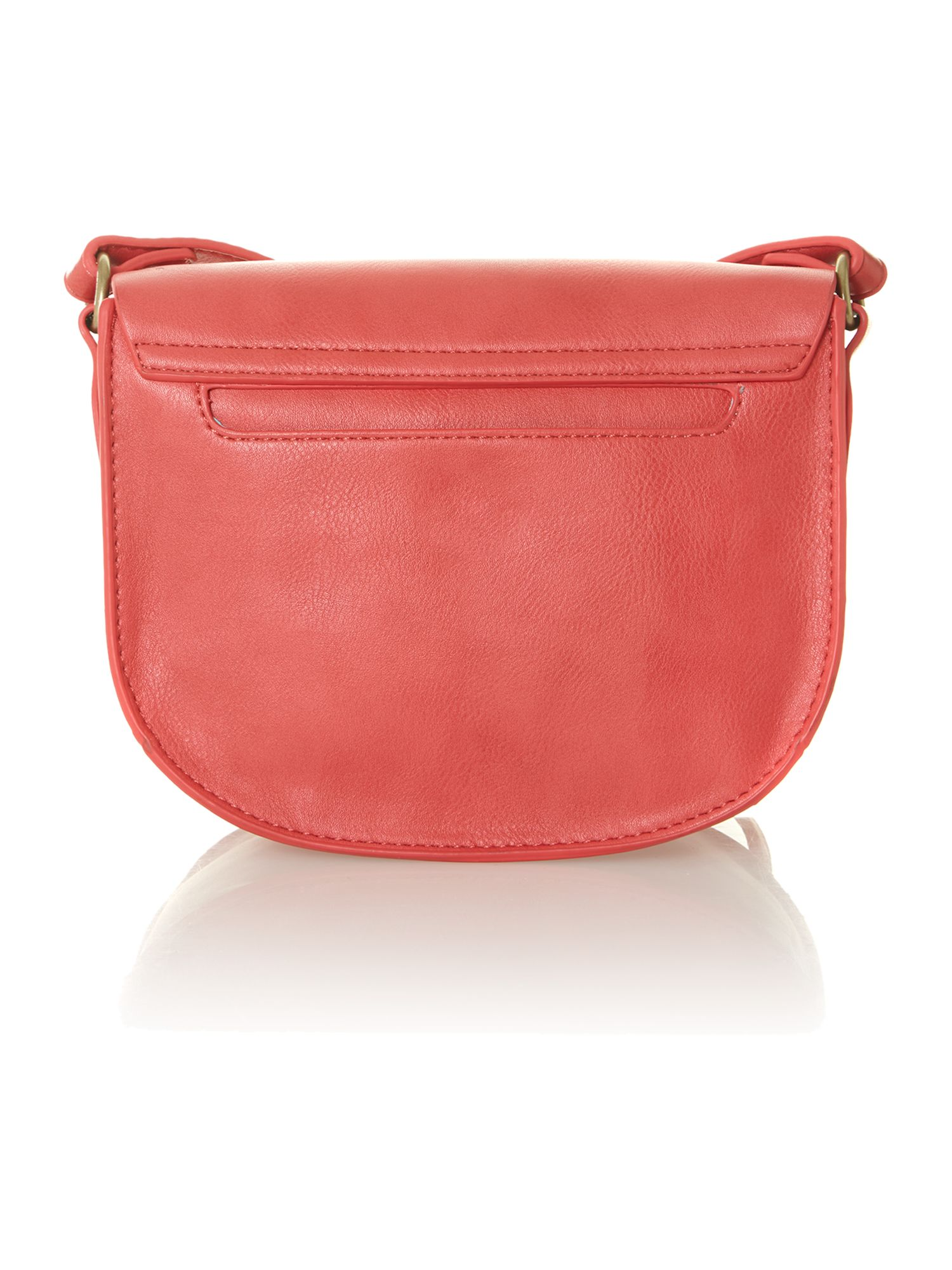 Keri small coral cross body bag