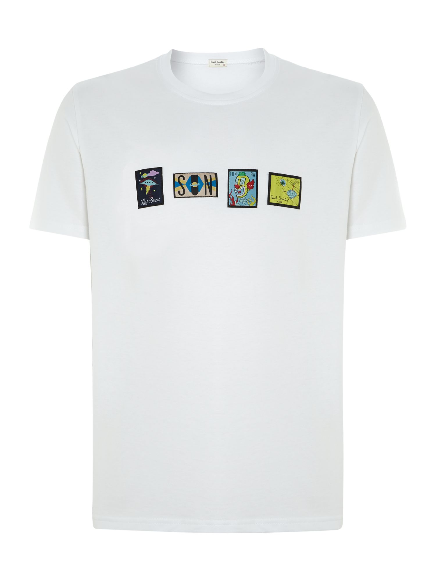 Badge t shirt