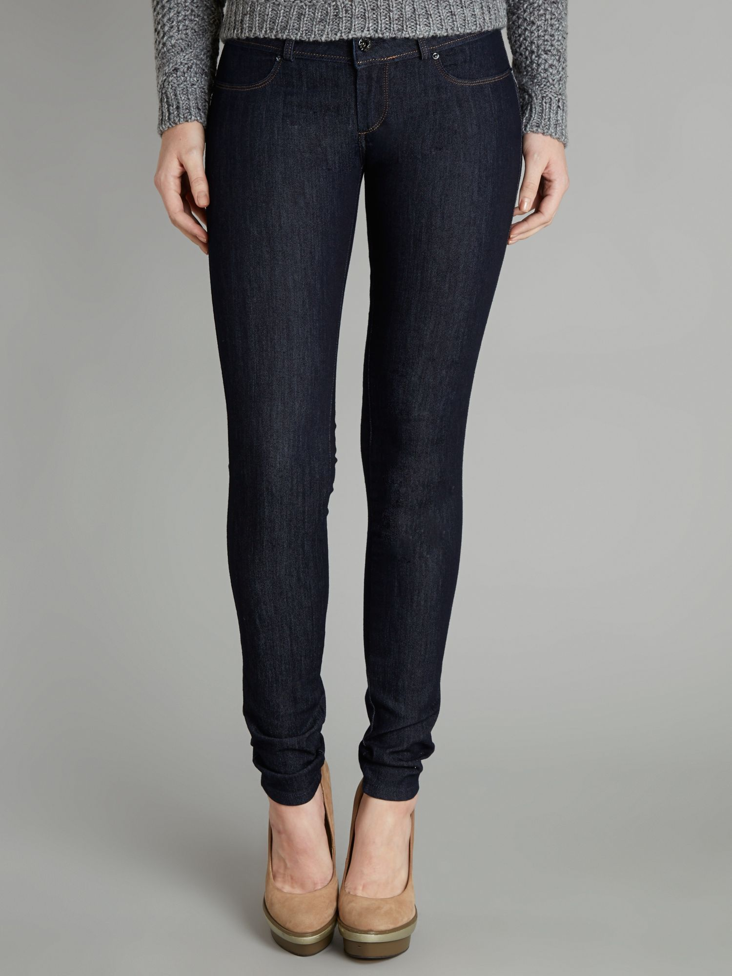 Wonder Push-Up jeggings in Rinse