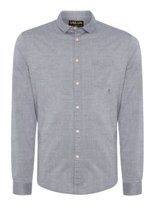 Eton textured fabric shirt