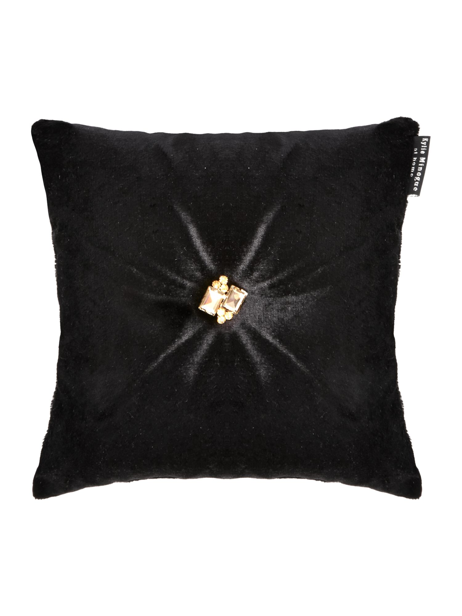 Gatsby cushion in black