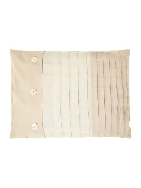 Linea Natural pleat cushion 30x40