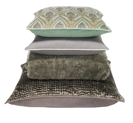 Casa Couture Pewter channel sham 65 x 65cm