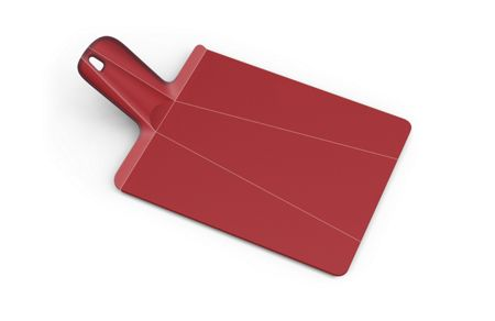 Joseph Joseph Chop2Pot Plus Folding Chopping Board, Mini - Red