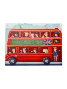 London Bus work top saver 30x40