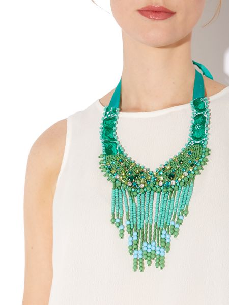 Biba Sleeveless top with removeable jewelled necklace