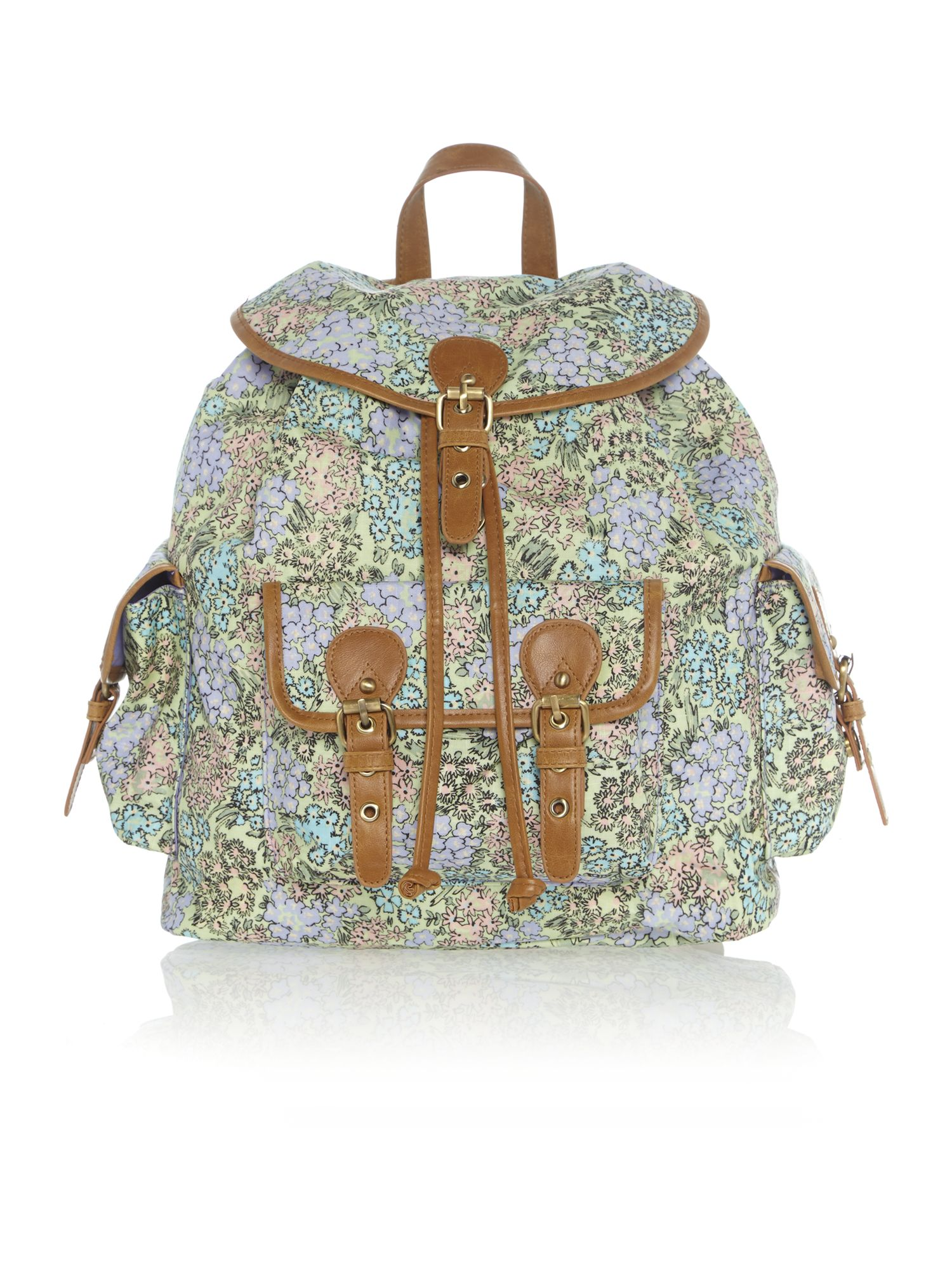 Maggie multi-coloured backpack