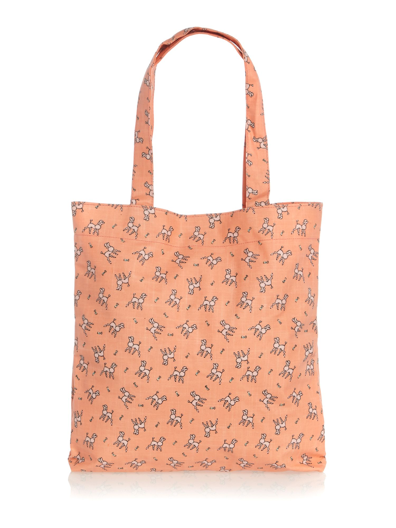 Maple coral tote bag