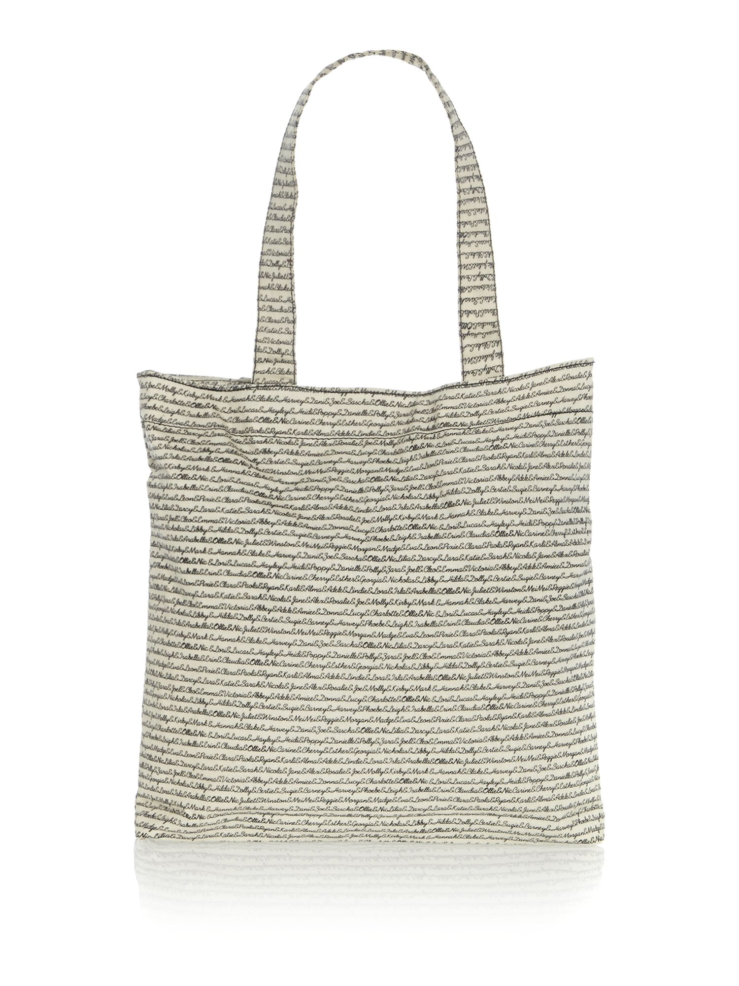 Neutral tote bag