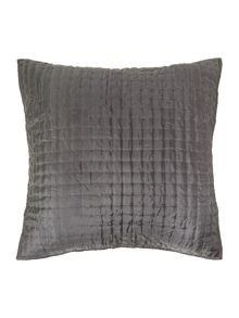 Casa Couture Pewter silk sham