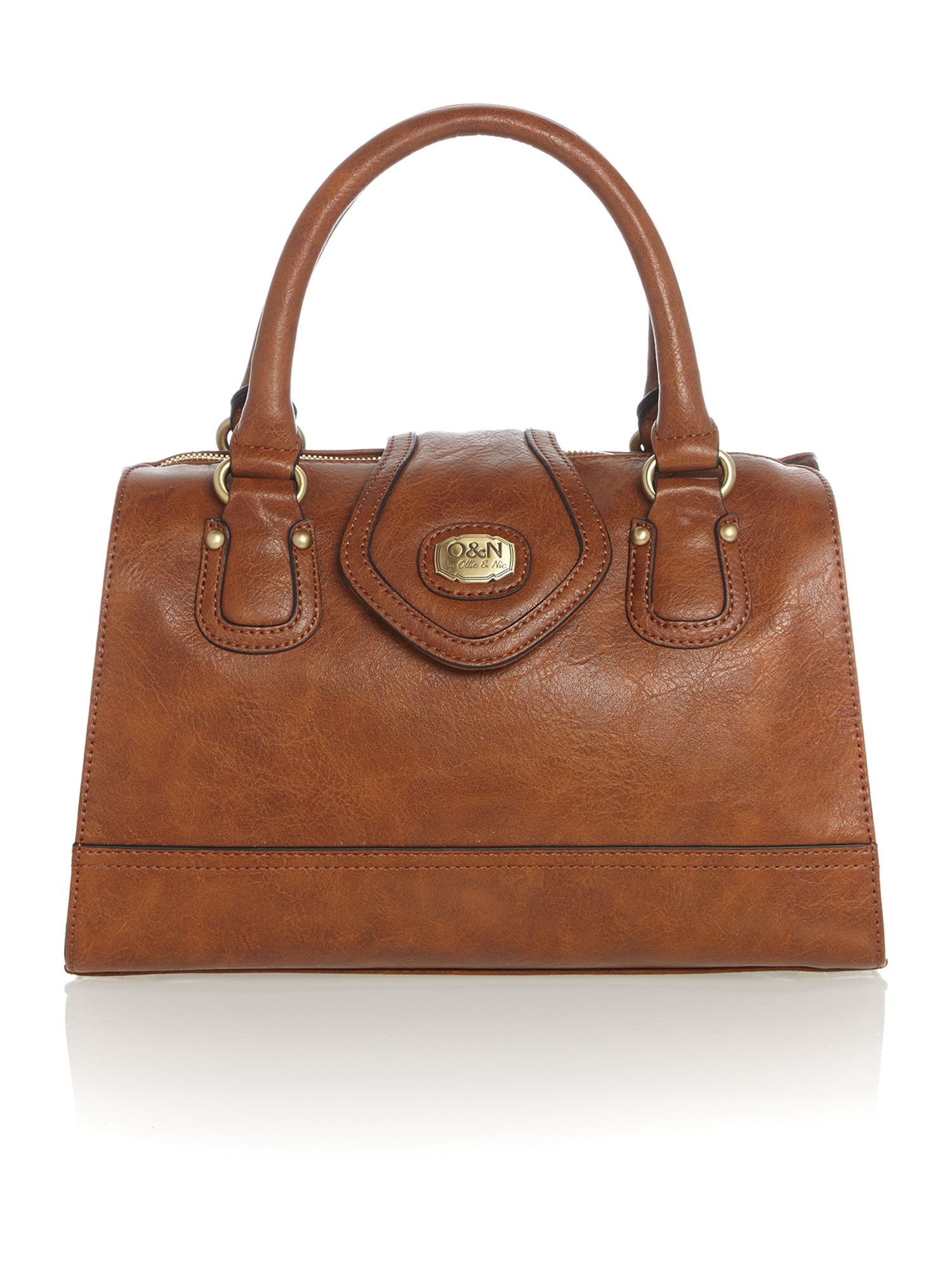 Corinne tan tote bag