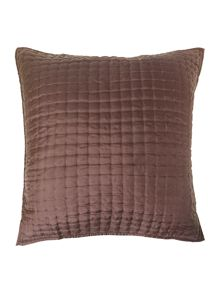 Casa Couture Plum silk sham