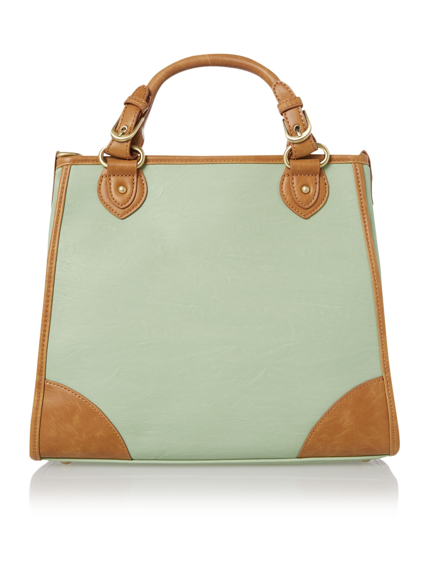Dillan green tote bag