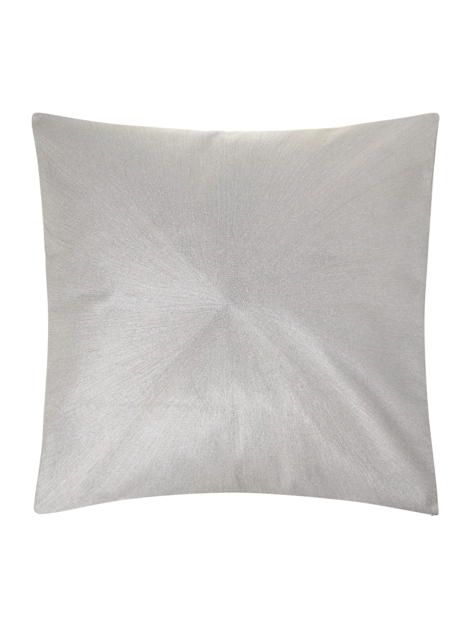 Lilac starburst cushion